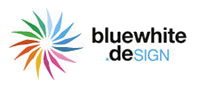 Logo bluewhite.deSIGN